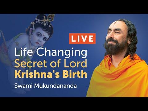 Life Changing Secret of Lord Krishna's Birth - Janmashtami 2020 Live Discourse Swami Mukundananda