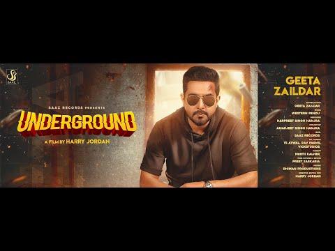 Underground (Full Video) Geeta Zaildar | Western Penduz l New Punjabi Songs 2019 |