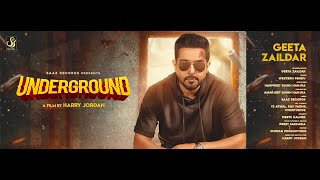 Underground (Full Video) Geeta Zaildar | Western Penduz l New Punjabi Songs 2019 |