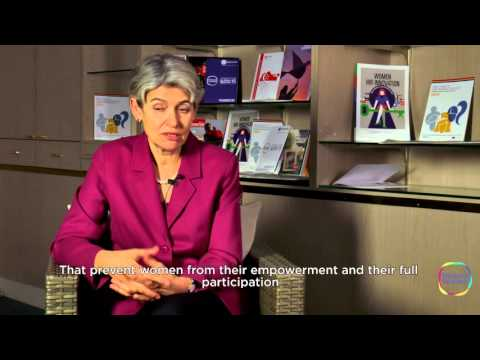 #WF15 Interview with Irina Bokova