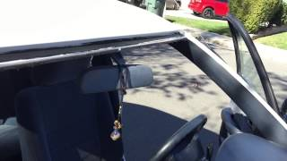 Toyota Corolla 1993 Safe Windshield Replacement By Alfredo's Auto Glass