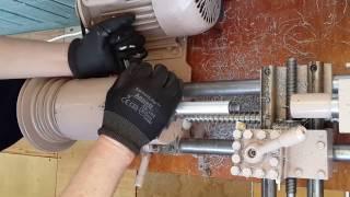 Как выставить переднюю и заднюю бабку относительно направляющих токарного станка.