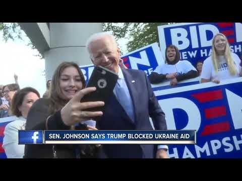 Senator Johnson says Trump blocked Ukraine Aid