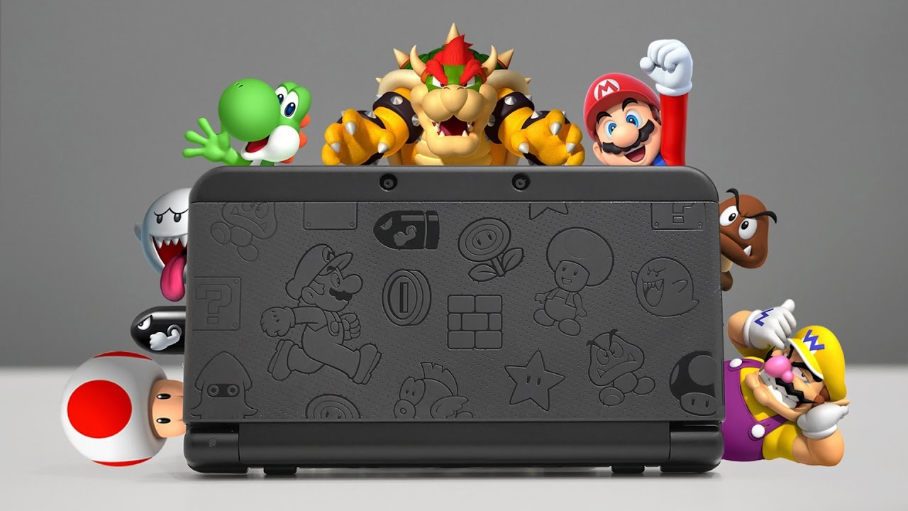 Nintendo 2ds Black Friday >> New Nintendo 3ds Mario Black Edition Overview Youtube