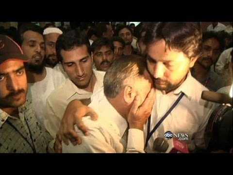 'All I could see was fire' - Pakistan plane survivor