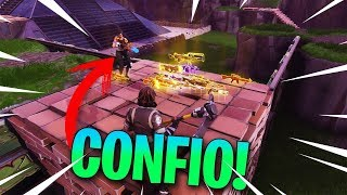 CONFIO.... - HUNTING SCAMMERS! - Fortnite Save the World! - Valentinodas