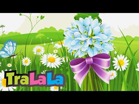 Ghiocelul și florile - Cântece de primăvară pentru copii | TraLaLa
