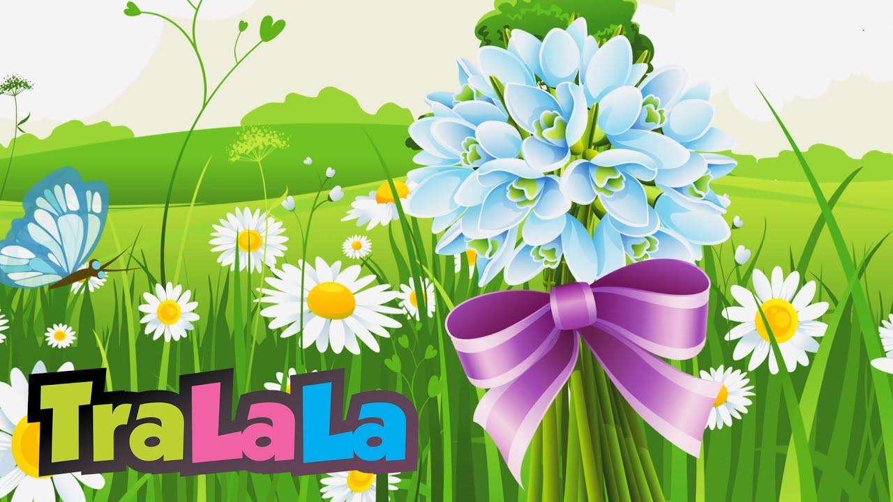 Ghiocelul și Florile Cantece De Primăvară Pentru Copii Tralala