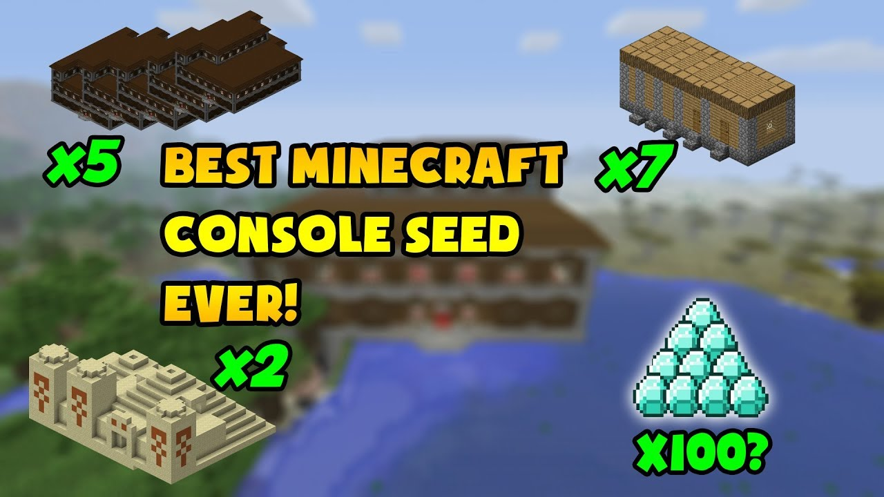 The Best Minecraft PS4 Woodland Mansion Seed! **DOUBLE WOODLAND MANSION  SEEDS**
