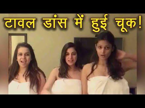 Kundali Bhagya Actress Shraddha Arya's TOWEL dance goes WRONG! Watch video | FilmiBeat