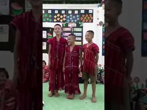 Ku Reh's challenge covered by Karenni kids learning in Thai School