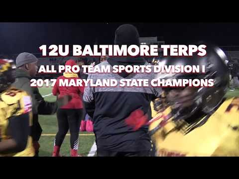 12U Baltimore Terps Top  Pax River 20 - 12 in State Title Classic