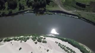 Видео , которое покорило всю Ульяновскую область! Река Сура - рыбалка73.рус