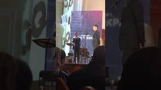 """Речь Дудя на получении премии """"Человек года"""""""