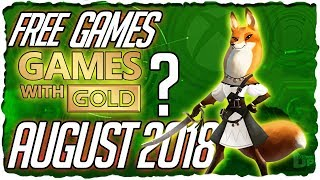 Xbox Games With Gold August 2018 Predictions   Xbox August 2018 Free Games Lineup