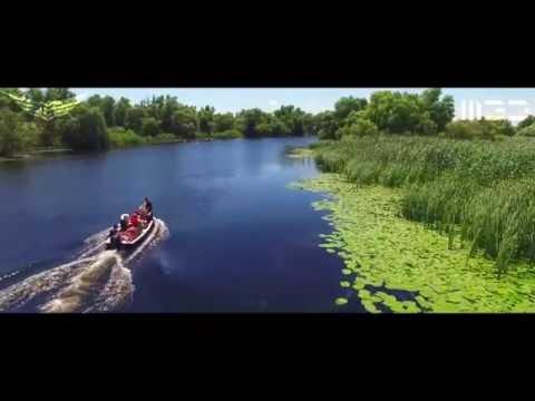 Romania Danube's Delta 2016 Aerial 4K