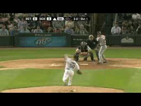 2008 White Sox: John Danks gives up 1 run on 4 hits in 6.2 innings, striking out 6 Tigers (8.06.08)