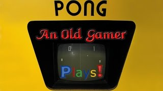 Classic Atari Arcade Games of the 80's - PONG!
