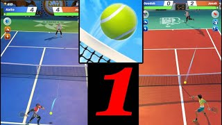 Tennis Clash: 1v1 Free Online Sports Game - Gameplay ( iOS , Android ) Games # 1 screenshot 1
