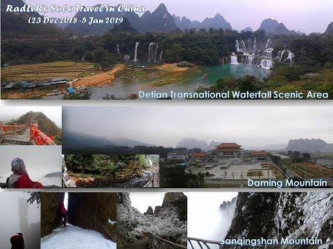 SOLO TRAVEL in China 23 Dec 18   5 Jan 19 ~RadLvR~