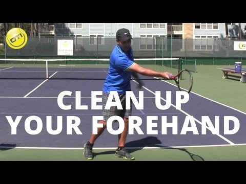 Tennis Tip: Clean Up Your Forehand