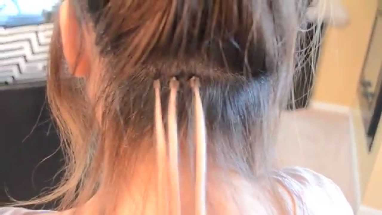 Locks And Bond Hair Extension Demo Youtube