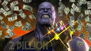 Why Avengers Infinity War Will Make 2 Billion Dollars