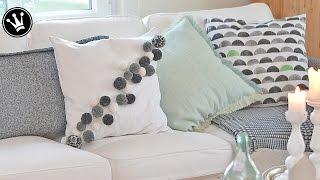 DIY - Kissen mit/ohne Reißverschluß nähen und gestalten I 4 raffinierte Design-Varianten I PP