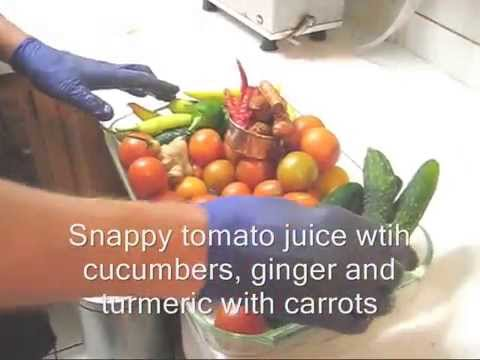 how to make tomato juice with a juicer