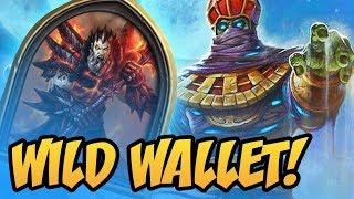 Wild Wallet!   Saviors of Uldum   Hearthstone