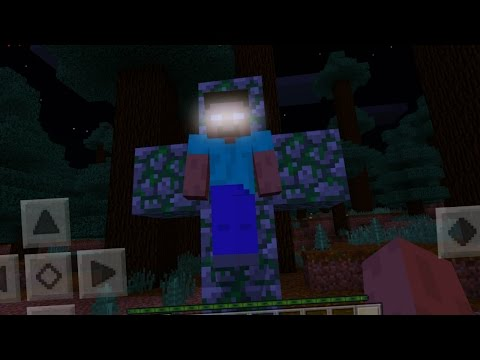 Thumbnail: I FOUND Herobrine in Minecraft Pocket Edition (Herobrine Mod)
