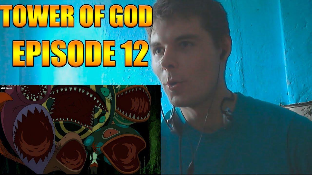 Tower of God Episode 12 REACTION