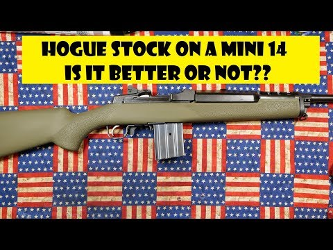 HOGUE OVERMOLD STOCK AND A MINI 14 - YouTube