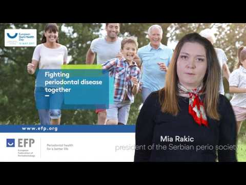 Rakic presents the European Gum Health Day 2017 in Serbia