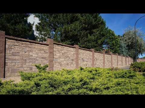 Privacy or Sound Barrier Product Description - AB Fence