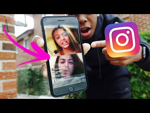 How To Go Live With Friends On Instagram! New Feature 2017