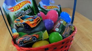 Easter Hot Wheels Cars & Race! || Toy Reviews || Konas2002