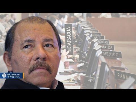 Informe de la OEA declara a Nicaragua FUERA DEL ORDEN DEMOCRÁTICO