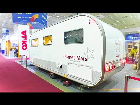 Planet Mars Caravan First Look  2017 Korean Motorhome
