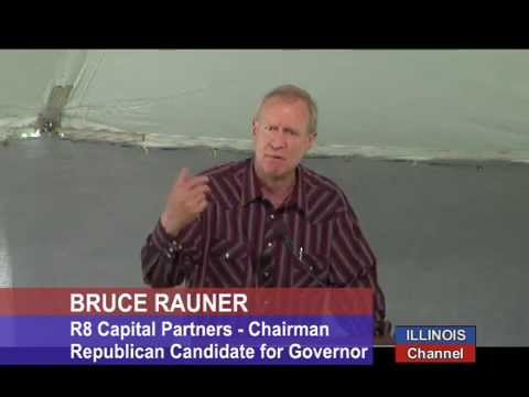 Bruce Rauner (R) Candidate for Gov, discusses Policy Positions