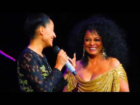 Diana Ross  Lady Sings The Blues w Tracee Ellis Ross  Venetian Theater Las Vegas, Nov 21, 2015