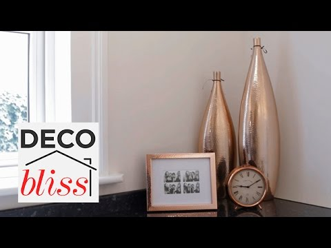Copper Accessories For A Small Kitchen Makeover I Restyle Your E