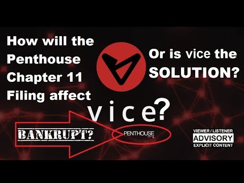 Talkin' $#!+: VICE Update & Penthouse Bankruptcy