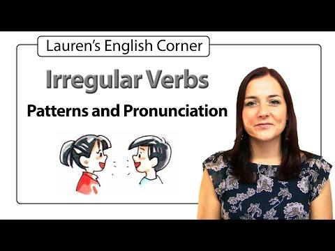 Irregular Verbs Pronunciation Lauren's English Corner
