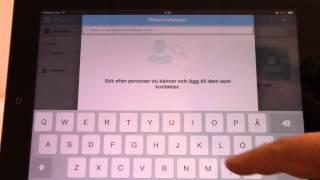 Ipad Skype-kurs