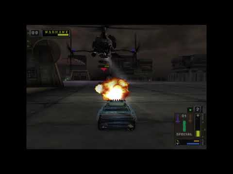 Twisted Metal Black - (Hard Mode) Warhawk demolished