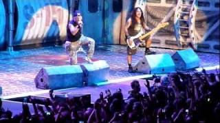 Iron Maiden Satellite 15 The final Frontier 31 Mai 2011 München Olympiahalle
