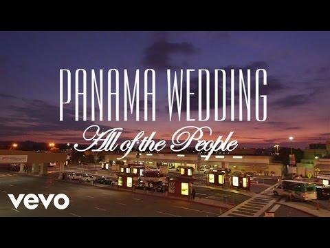 panama wedding all of the people