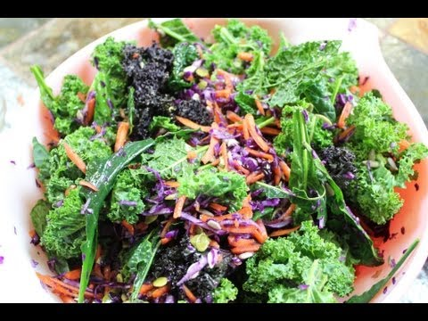 Easy Organic Hail to Kale Salad Recipe