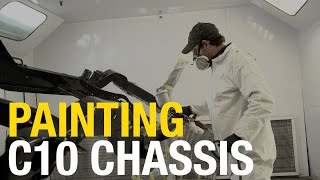 How-To Lay Epoxy Primer and Topcoat: C10 Truck Chassis with Eastwood